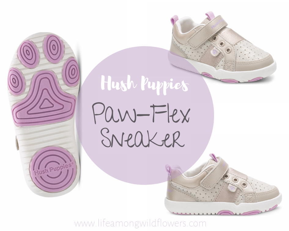 Looking for a cute, comfy shoe for your toddler? Try Hush Puppies Paw Flex Sneaker!