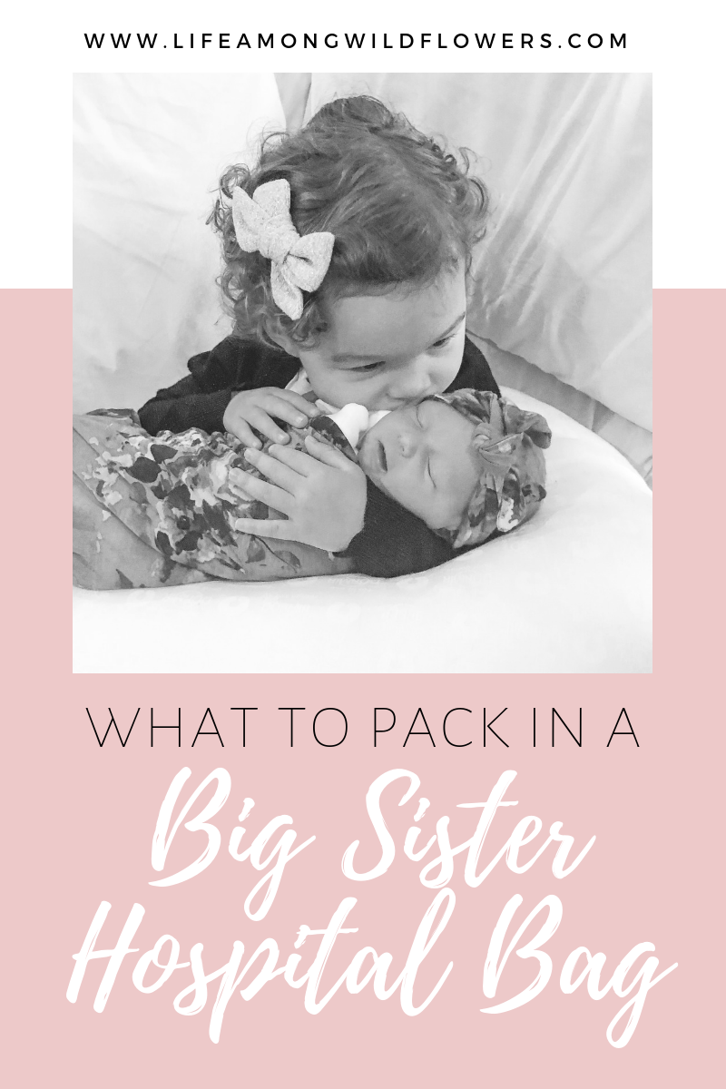 Big Sister Hospital Bag Gift Idea