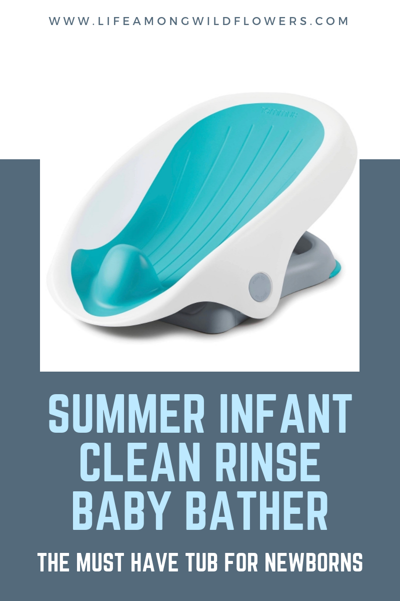 Looking for the perfect baby shower gift idea? Check out the Summer Infant Clean Rinse Baby Bather!